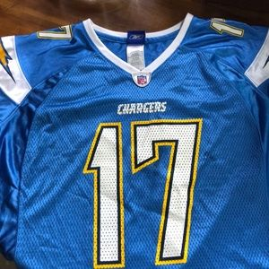 Authentic NFL Rivers Chargers Jersey